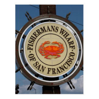 Carte Postale San Francisco Warf
