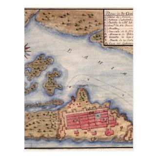 Carte Postale San Juan 1770