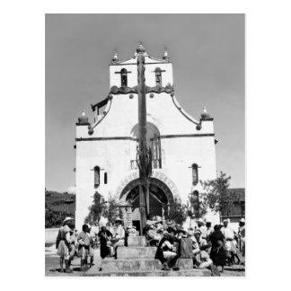 Carte Postale San Juan Chamula, Chiapas, Mexique