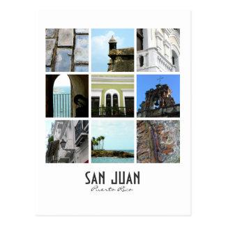 Carte Postale San Juan, Porto Rico