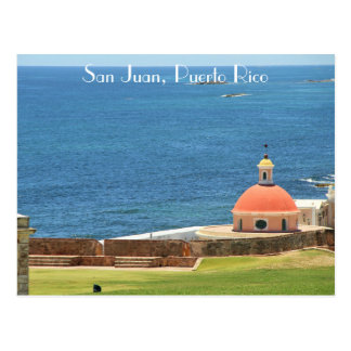 Carte Postale San Juan, Porto Rico, photographie, des Caraïbes