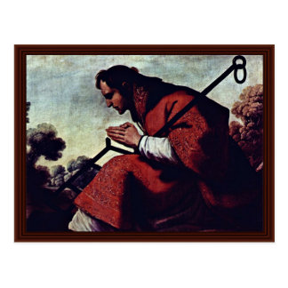Carte Postale San Lorenzo par Zurbarán Francisco De