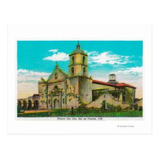 Carte Postale San Luis de mission, Rey de FranciaOceanside, CA