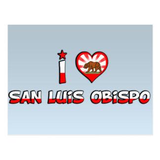 Carte Postale San Luis Obispo, CA