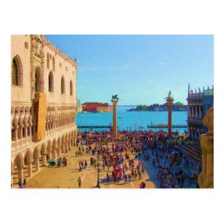 Carte Postale San Marco Piazza - Venezia Italie