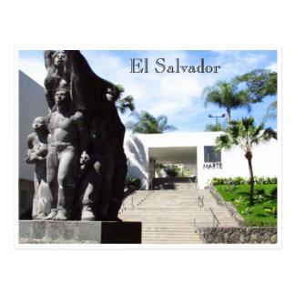 Carte Postale San Salvador museo de arte