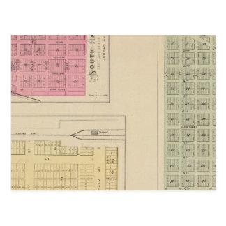 Carte Postale Santa Fe, Dalton, et asile du sud, le Kansas