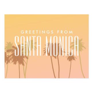 Carte Postale Santa Monica