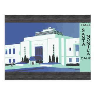 Carte Postale Santa Monica Calif, cru
