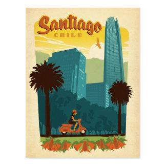 Carte Postale Santiago, Chili