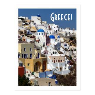 Carte Postale Santorini, Grèce