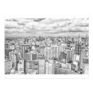 Carte Postale Sao Paulo, Brésil
