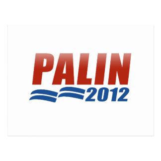 Carte Postale Sarah Palin 2012