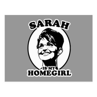 Carte Postale Sarah Palin est mon homegirl