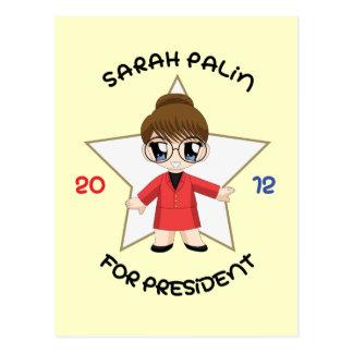 Carte Postale Sarah Palin pour le président