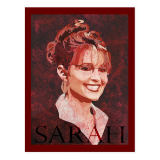 Carte Postale Sarah Palin - vice-président 2008