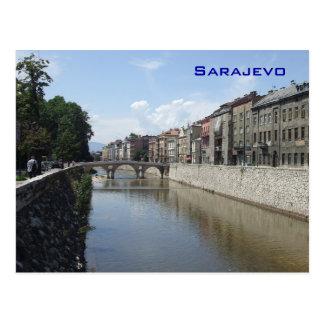 Carte Postale Sarajevo - pont latin