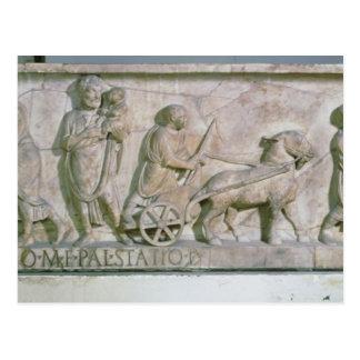 Carte Postale Sarcophage de Cornélius Statius
