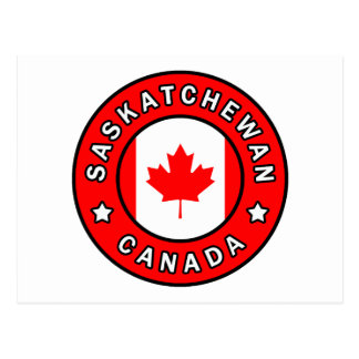 Carte Postale Saskatchewan Canada