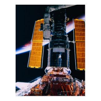 Carte Postale Satellite lançant de la navette spatiale