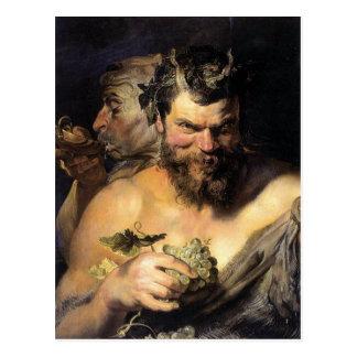 Carte Postale Satyre - Satan - Rubens