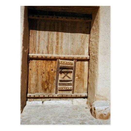 Carte Postale Saudi Arabia - Door Architecture