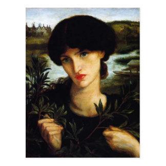 Carte Postale Saule de l'eau de Dante Gabriel Rossetti-