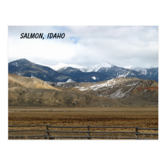 Carte Postale Saumon, Idaho