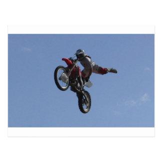 Carte Postale Saut de motocross