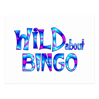 Carte Postale Sauvage au sujet du bingo-test