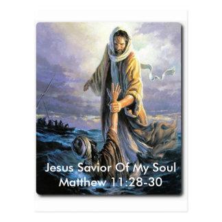 Carte Postale Sauveur de Jésus de mon âme