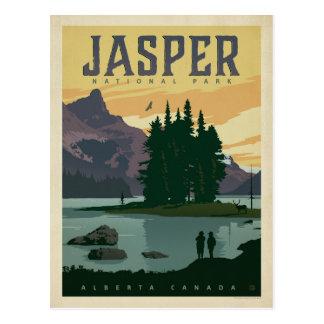 Carte Postale Sauvez le parc national de jaspe de la date |,