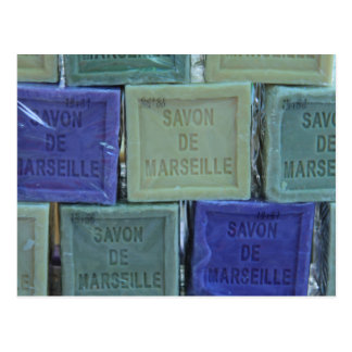 Carte Postale Savon De Marseille