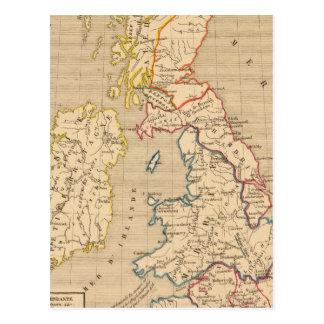 Carte Postale Saxons de DES de l'invasion d'apres de la Bretagne