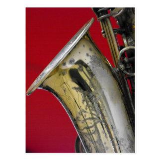 Carte Postale Saxophone