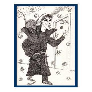 Carte Postale Scanner Darkly