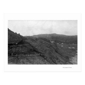 Carte Postale Scène de Newport, Orégon à la photographie de