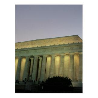 Carte Postale Scène de nuit de Lincoln Memeorial