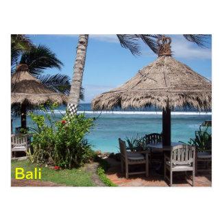 Carte Postale Scène de plage de Bali