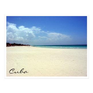 Carte Postale scène de plage de Varadero