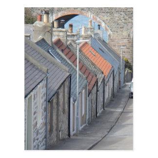 Carte Postale Scène de rue - Cullen, Moray, Ecosse