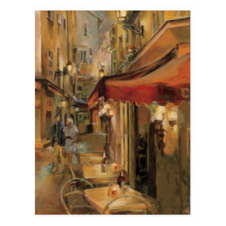 Carte Postale Scène de rue de Paris