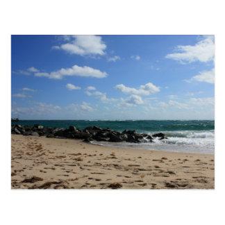 Carte Postale Scène magnifique de plage