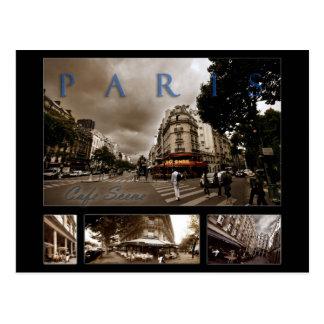 Carte Postale Scène parisienne de café