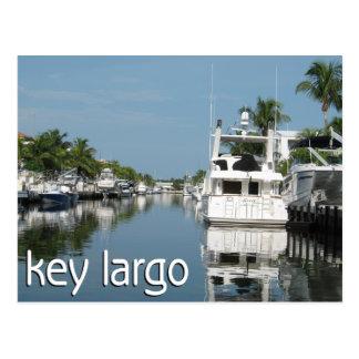 Carte Postale Scène principale de Largo avec des bateaux