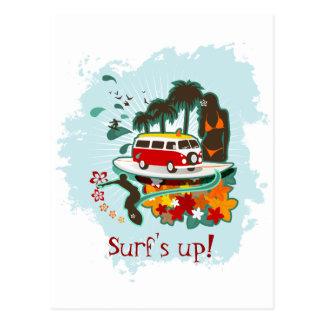 Carte Postale Scène tropicale de plage