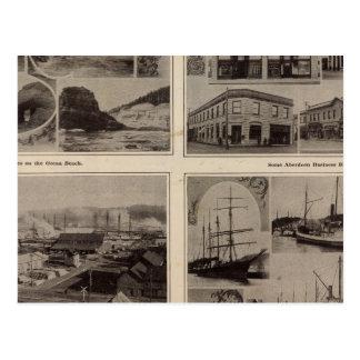 Carte Postale Scènes Aberdeen, lavage