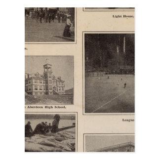 Carte Postale Scènes Aberdeen, Washington