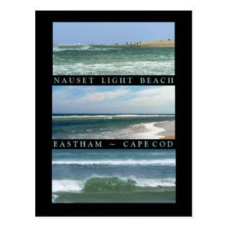 Carte Postale Scènes de plage légère de Nauset