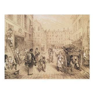 Carte Postale Scènes et morales de Paris
